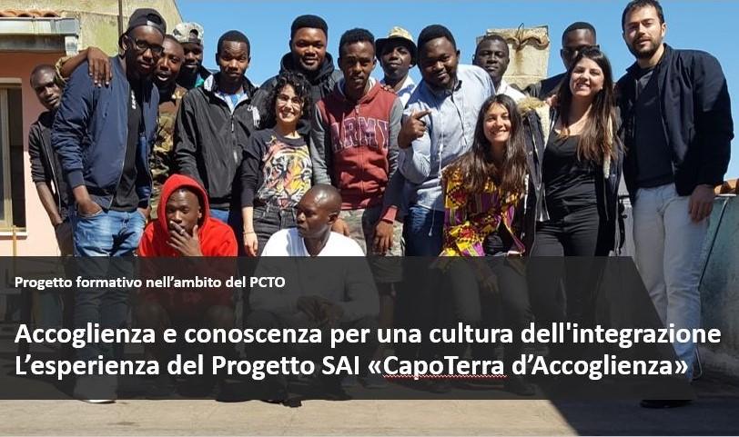 Accoglienza e conoscenza per una cultura dell'integrazione. Un progetto di alternanza scuola-lavoro in tempi di pandemia